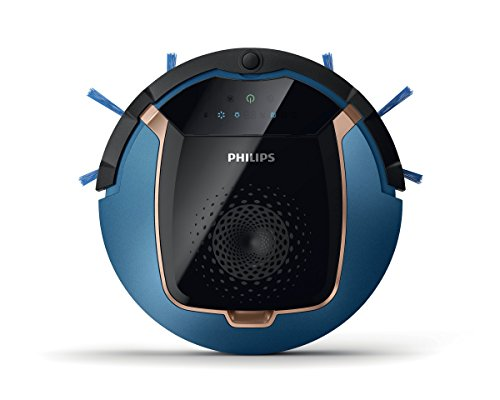 Philips FC8812/01 aspirapolvere robot Senza sacchetto Nero, Blu 0,4 L