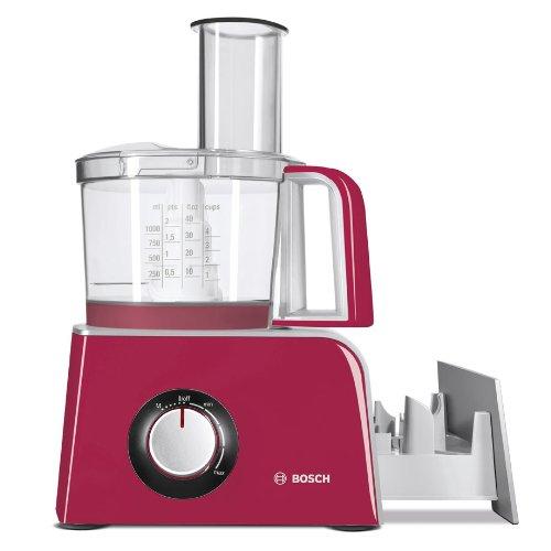 Bosch MCM42024 - Robot de cocina compacto, 800 W, capacidad del tazón de 1,25 l, color rosa fucsia