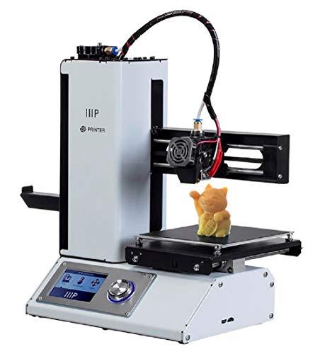 Monoprice Select Mini V2 3D Printer 3D Drucker mit beheizter Bauplatte und Euro-Netzadapter (Typ F) 121872