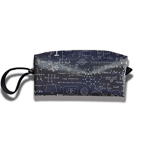 Murales di lavagna scientifica Canvas Travel Make Up Borsa a forma di penna Borsa a forma di borsa