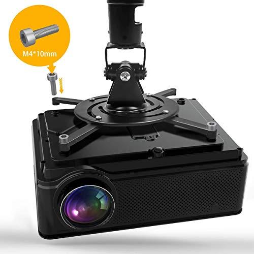 YABER Vidéoprojecteur 4200 Lumens Soutien 1080P Full HD Home Cinéma Projecteur LED avec Deux Haut-parleurs Stéréo (de Qualité HiFi - Haute-f... 12