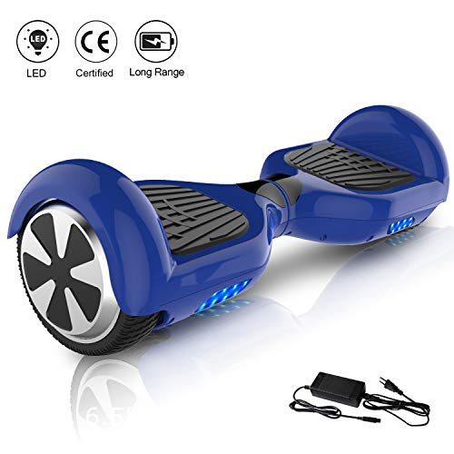 COLORWAY Hover Board 6.5',Self Balance Scooter Elettrico, Monopattino Elettrico (Blue-6.5)
