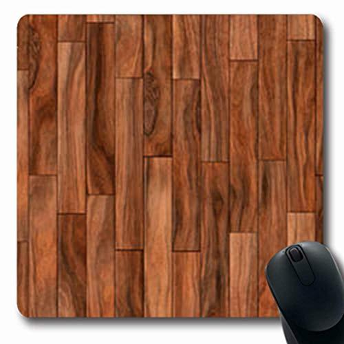Gsgdae Mousepad legno marrone parquet modello alta tavola astratta legno marrone pavimento materiale...