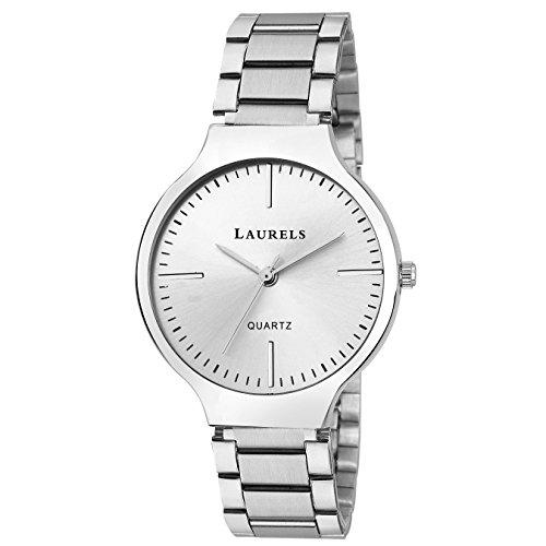 Laurels Analogue Silver Dial Women's Watch-Lo-Alc-070707