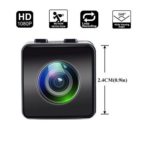 Mini Camera Hawkeye Firefly HD 1080P FPV Micro Action Camera Mini Hidden Spy Cam con DVR FOV160 °...