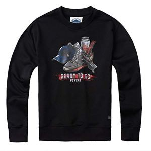 PG-Wear-Herren-Sweatshirt-Ready-to-Go-schwarz-S-XXXL