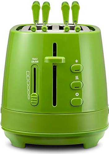 De Longhi CTLAP2203GR Tostapane 2 Fette 550 Watt, colore Verde