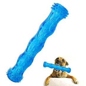 CEESC Juguete para Masticar con Forma de Hueso para Perro, Juego de Limpieza de Dientes y Rompecabezas para Cachorro, 3…