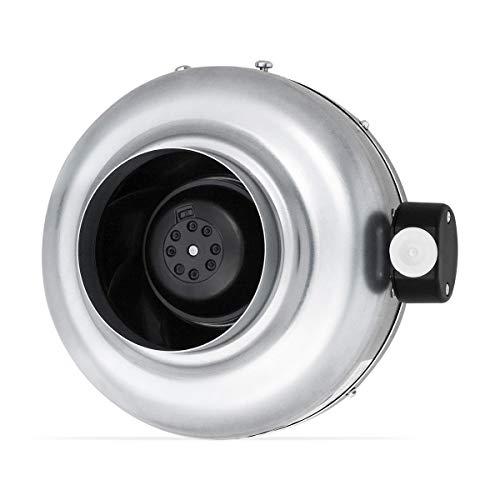 neverest RV 125 mm Radiale Tubo Assiale Ventilatore del condotto estrattore 390³/h