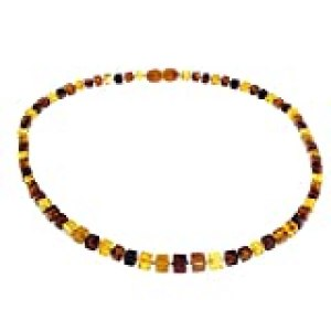 InCollections 2106440213L570 - Collar de Mujer con ámbar, 45 cm