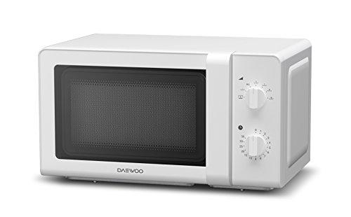 Daewoo KOG-6F27 – Microondas, 20 litros, con grill, color blanco