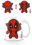 Pyramid International Kawaii, Motivo: Deadpool Marvel-Tazza in Ceramica con Scritta, Colore: Multicolore, 7.9x11.00x9.3 cm