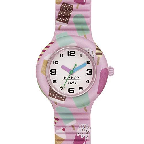 Hip Hop Watches - Orologio Bambina Hip Hop Ice Cream HWU0860 - Collezione Kids Fun - Cinturino in...