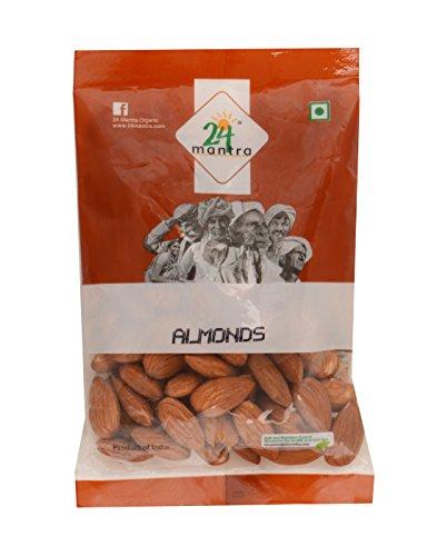 24 Mantra Organic Almonds, 100g
