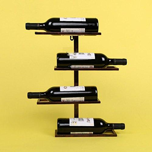 portabottiglie Red Wine Rack Ferro Vino Rack Muro Wine Rack a Muro Rack Wine Bar Wine Rack Parete...