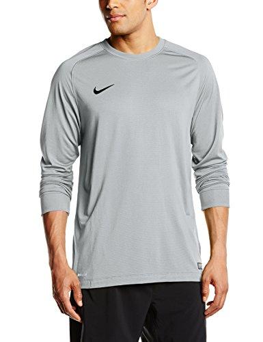 Nike Goalkeeper Jersey Park II, Maglia portiere, Bambino, Argento (Matte Silver/Black), XS
