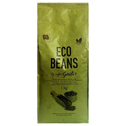 CAFES GUILIS DESDE 1928 AMANTES DEL CAFE - Molido Grano Arábica Orgánico Bio Eco Natural Tueste Artesanal 1 Kilogramo