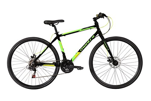 Montra Downtown 700X35C 21 Speed Super Premium Cycle(Black)