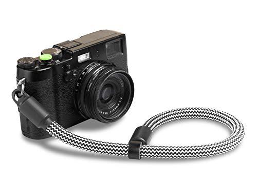 Ropster, cinturino da polso per fotocamera, per fotocamere digitali, compatte, SLR, DSLR, Nikon, Canon, Sony, Olympus, in corda da alpinismo