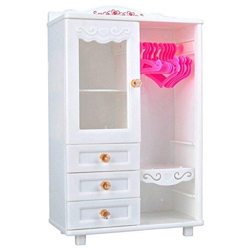 elegantstunning Bambole appendi Armadio mobili Accessori per casa delle Bambole Decorazione (+...