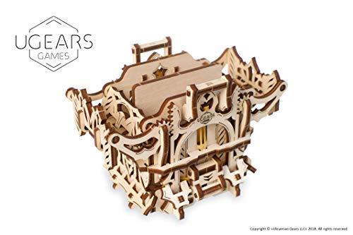 UGEARS Puzzle 3D Rompicapo Legno - Porta Mazzo di Carte - Deck Box - Cofanetto Scatola di...