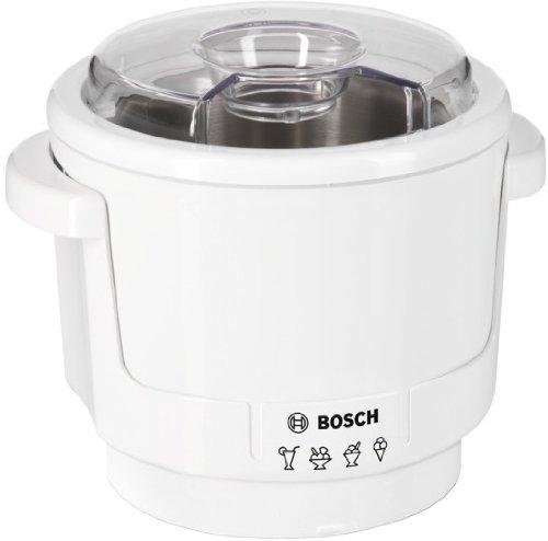 Bosch MUZ5EB2, Gelatiera per Robot da Cucina MUM5, Bianco