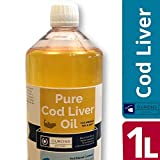 1 Litre Pure Cod Liver Oil Liquid 100% Fish Oil for Pets and Bait