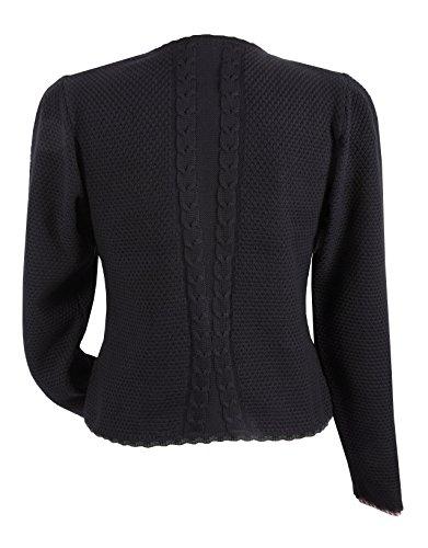 Trachten-Strickjacke Damen - Trachtenjacke/Dirndljacke Schwarz- Top-Qualität -