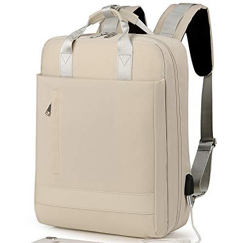 Laptop Rucksack Herren,Schulrucksack Jungen Teenager, Reiserucksack mit USB-Ladeanschluss, leichte Laptoptasche, Schultasche für Männer Frauen, passend für 15,6 Zoll Laptop und Notebook