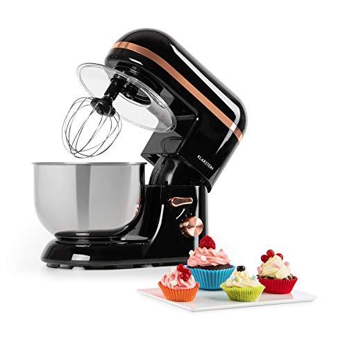 Klarstein Bella Elegance - Robot Da Cucina, Planetaria, Mixer, 1300 W / 1,7 HP in 6 Livelli di...