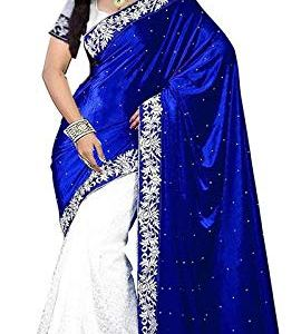 Market Magic World Women's Embroidered Saree with Blouse Piece(Free Size) 25  Market Magic World Women's Embroidered Saree with Blouse Piece(Free Size) 41Bmp 2B18U5L