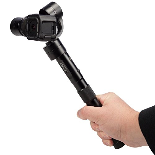 EVO GP-PRO 3 Axis GoPro Gimbal for Hero4 Session, Multiple Operating Modes, Built From Aircraft Grade CNC Aluminum