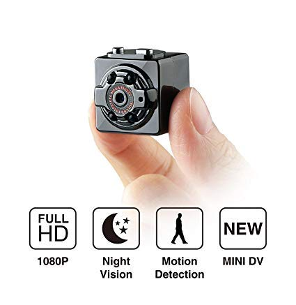 SmartCam SQ8 Mini Camera TF Card Voice Recorder Night Vision DV Car DVR, Spy Camera for Home Office and Outdoor
