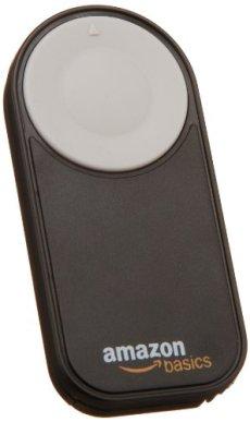 AmazonBasics - Disparador inalámbrico para Canon EOS 650D / 600D / 550D/ 500D / 400D / 350D / 5D Mark II / 7D, color negro
