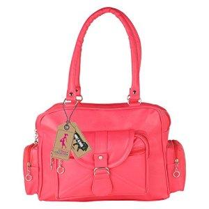 Ritupal-Collection-Womens-Shoulder-Handbag-Cheerful-Pink