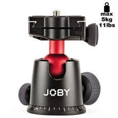 JOBY 5K - Cabeza para Trípode Profesional, para Cámaras DSLR y CSC/Sin Espejo, Peso hasta 5 kg, JB01514-BWW