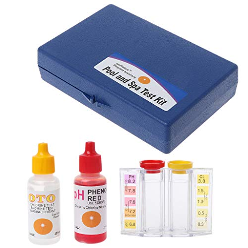 BIlinli pH-Chlor-Wasser-Qualitätstest-Test-Schwimmbad-Hydrokultur-Aquarium-Tester