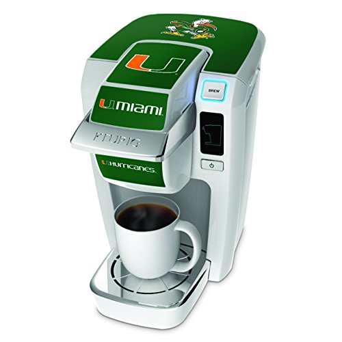 Keurig 114502 University Of Miami Brewer Decal, Green