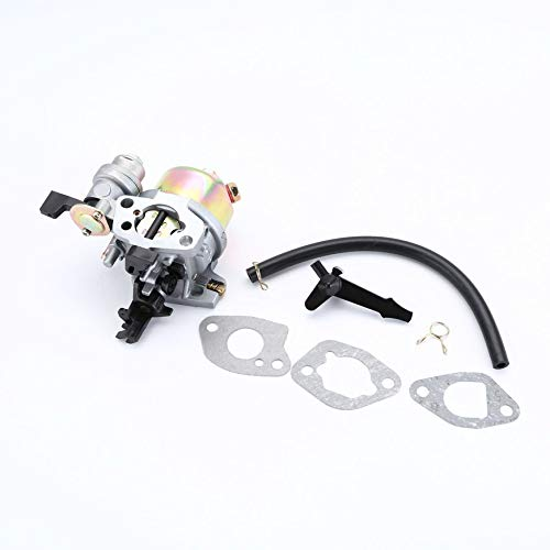Pudincoco Carburador 2kw-3kw Gx160 Gx200 Generador de Gasolina 2.2kva 5.5hp 6.5hp 168f (Plata)