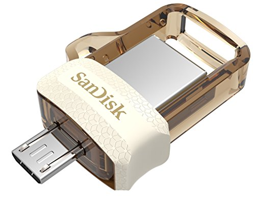 SanDisk Ultra Dual 32GB USB 3.0 OTG Pen Drive (Gold)