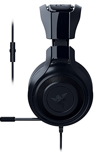 Razer ManO'War 7.1 - Auriculares gaming (sonido envolvente, compatible con PC, Mac, Playstation 4 y Xbox One)
