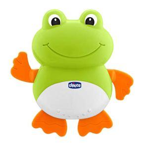 Chicco Nadadora-Juguete de baño para Agua y bañera, salpica al bebé, diseño Rana, Multicolor (00009727000000)