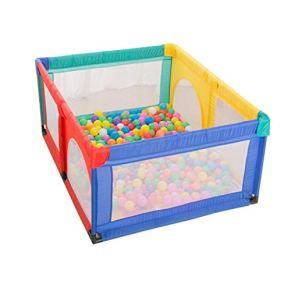 JLL Tienda de juego de pelota for niños - Juego de pelota de 4 lados for niños pequeños y bebés - Llene de bolas de…