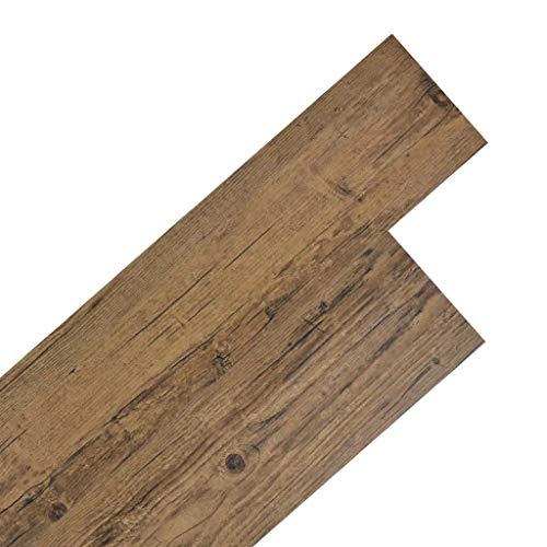 Listoni per Pavimentazione in PVC, 36 Pezzi autoadesiva di pavimento 5,02 m² Pavimenti Rivestimenti...