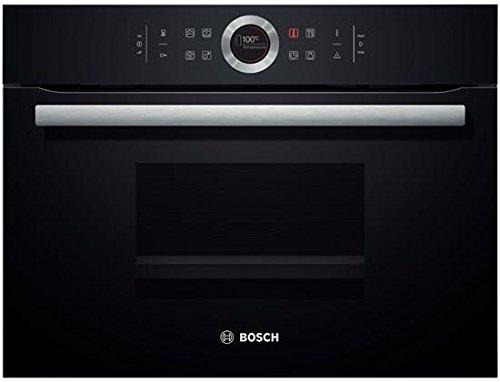 Bosch CDG634BB1 Serie 8, elettrico, a vapore incorporato, 59,5 cm, 38 L, cottura a vapore