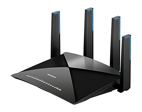 Netgear Router WiFi Nighthawk, Compatibile con Alexa e Google Home, Streaming 4k, Velocità...
