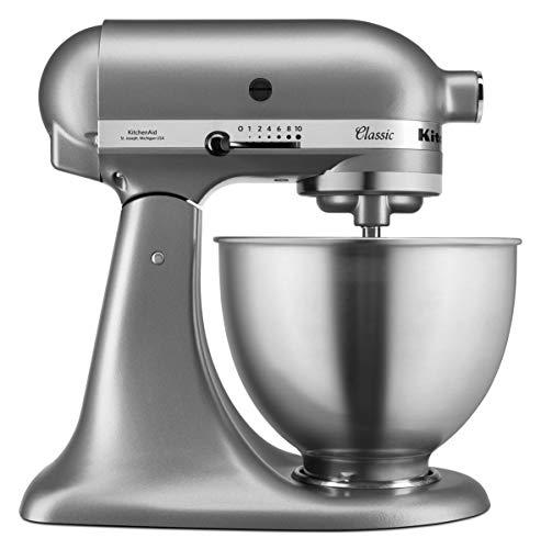 KitchenAid 5K45SSESL - Robot da cucina in zinco pressofuso, argento