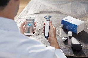 Philips-7000-series-S7920-Afeitadora-Batera-Rotacin-Turquesa-Color-blanco