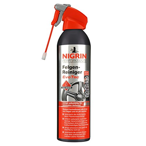NIGRIN 72976 EvoTec Felgenreiniger, 0,5 Liter