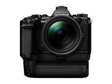 "Olympus OM-D E-M5 Mark II - Cámara Evil DE 16.1 MP (Pantalla 3"", estabilizador, vídeo Full HD), Color Negro/Negro - Kit con Objetivo Zuiko 12-40 mm 1:2.8, empuñadura HLD-8 y Doble batería BLN-1"